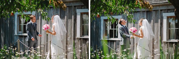 first wedding look in steveston