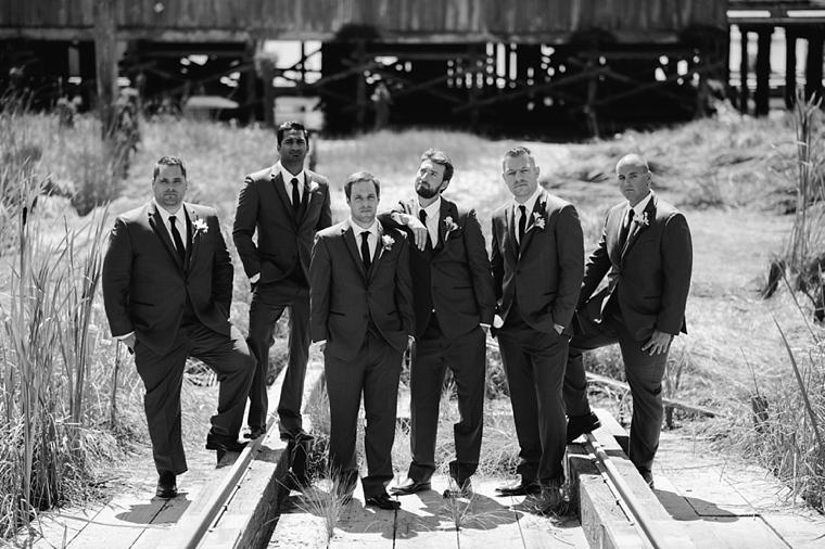 best groomsmen portrait