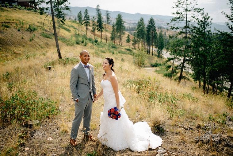 mountain destination wedding in kelowna