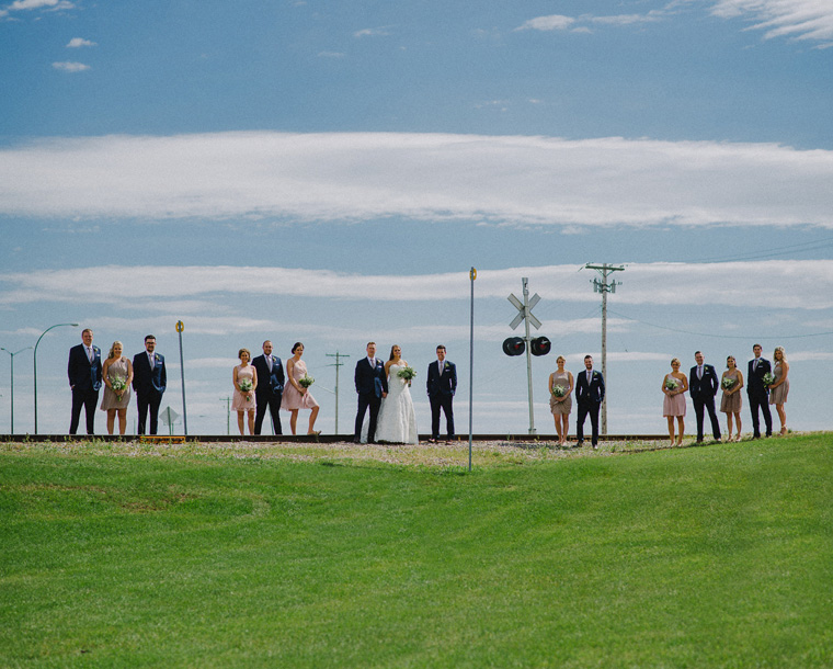 unique group wedding photo