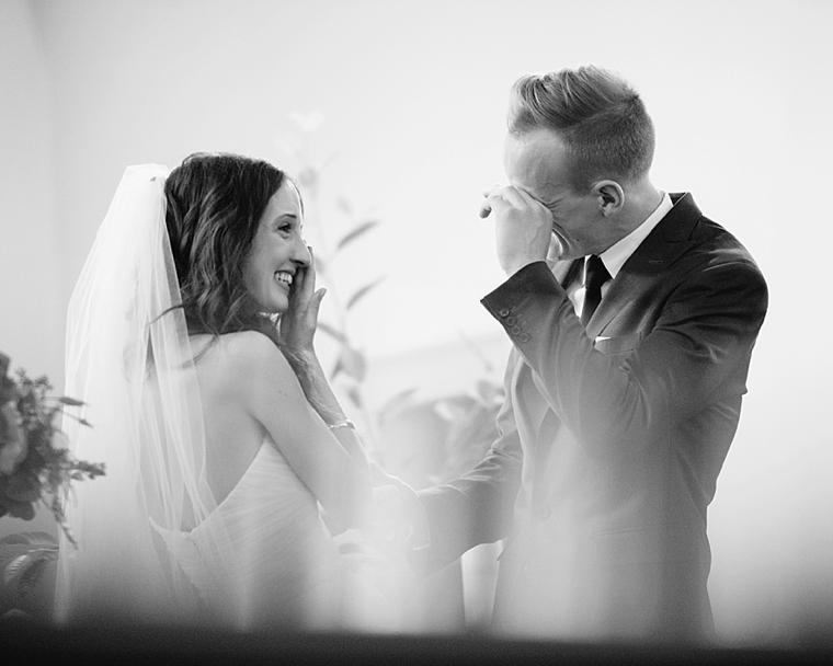 emotional vancouver wedding ceremony