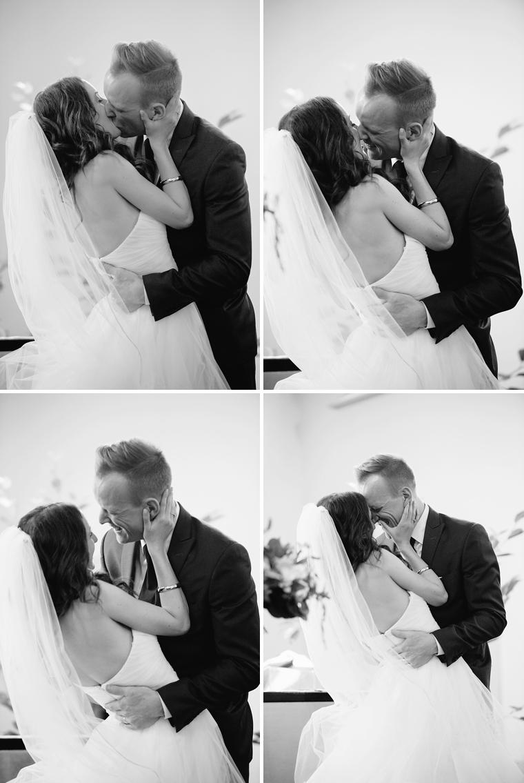 best wedding kiss photos