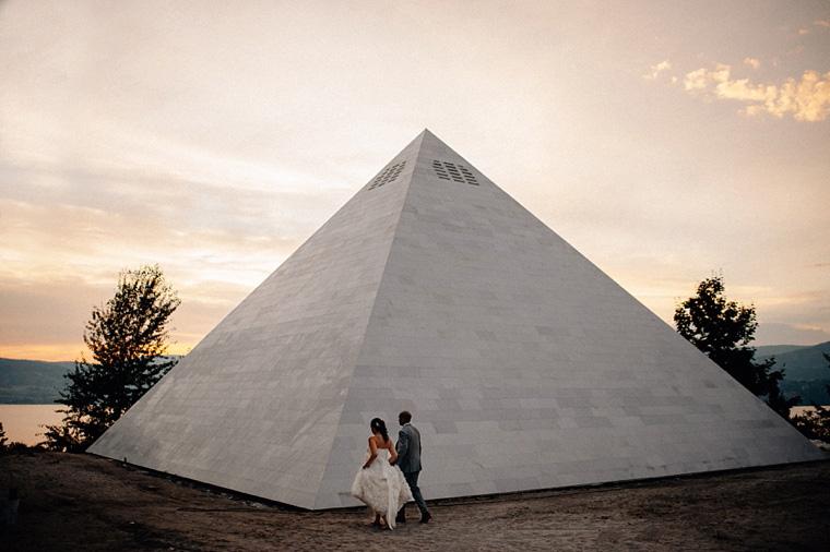 pyramid winery evening wedding