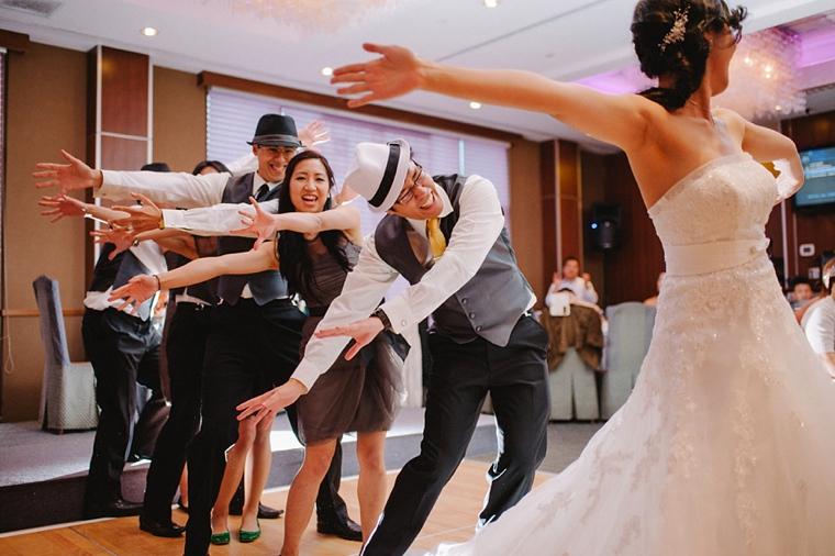 unique wedding party dance