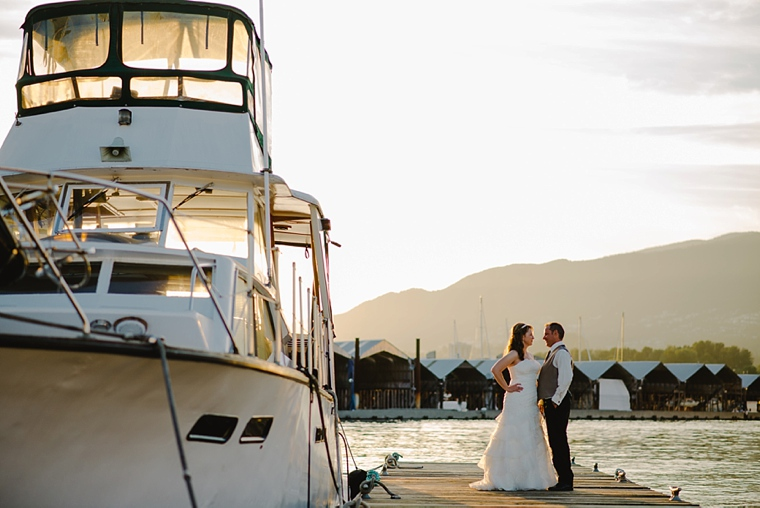 vancouver yacht wedding