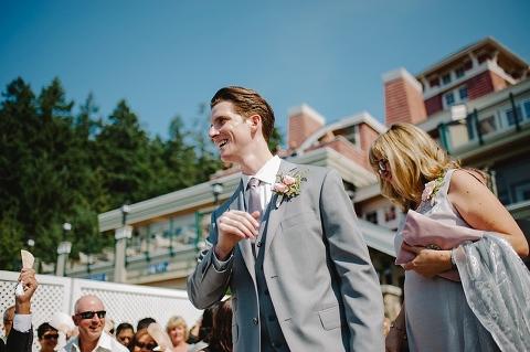 best gulf islands wedding photos
