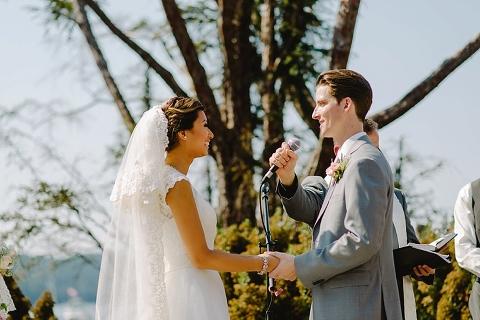 outdoor vancouver island wedding