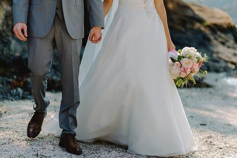 rustic gulf islands wedding venue