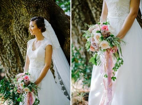 destination forest wedding in bc