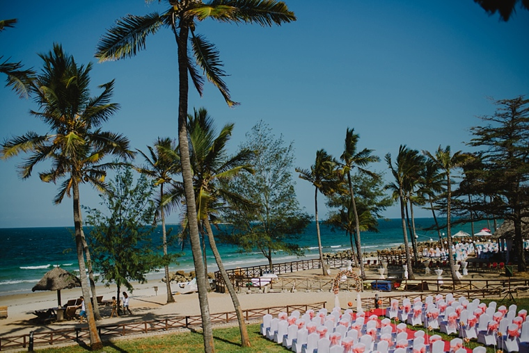 tanzania beach wedding venue