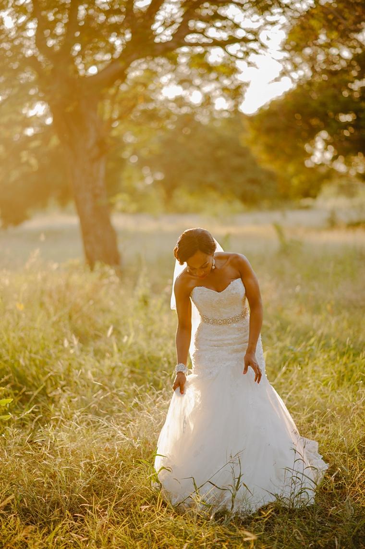 african bridal portrait