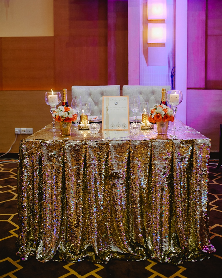 african sweetheart table