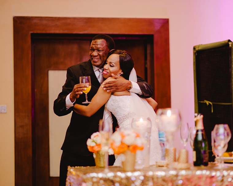 candid african wedding moments