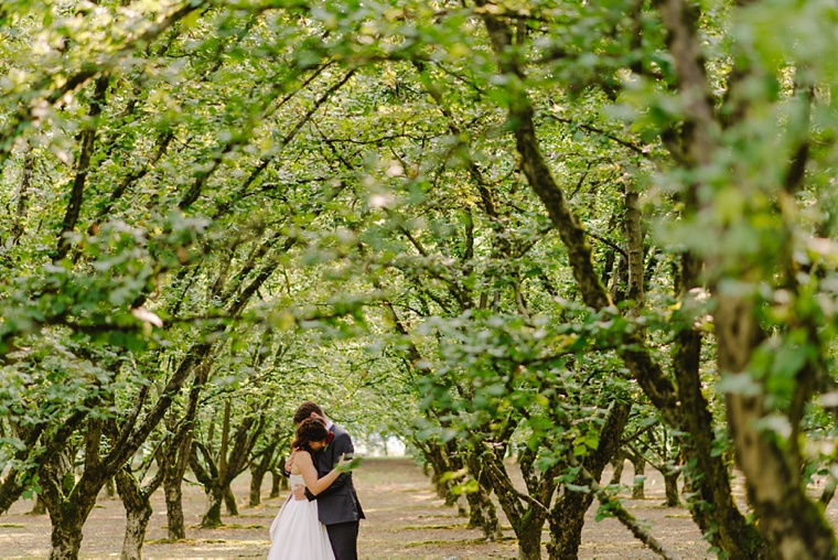 vancouver orchard wedding