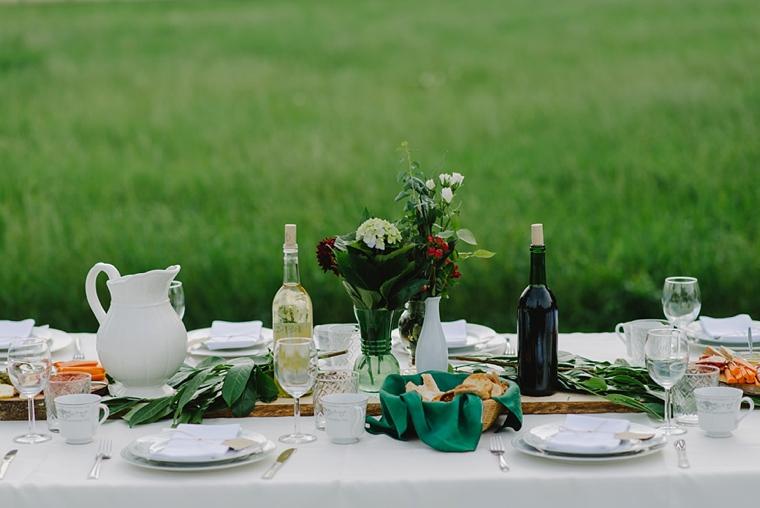 outdoor field wedding in vancouver