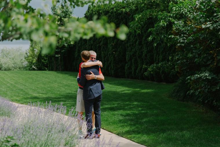 outdoor wedding in summerland