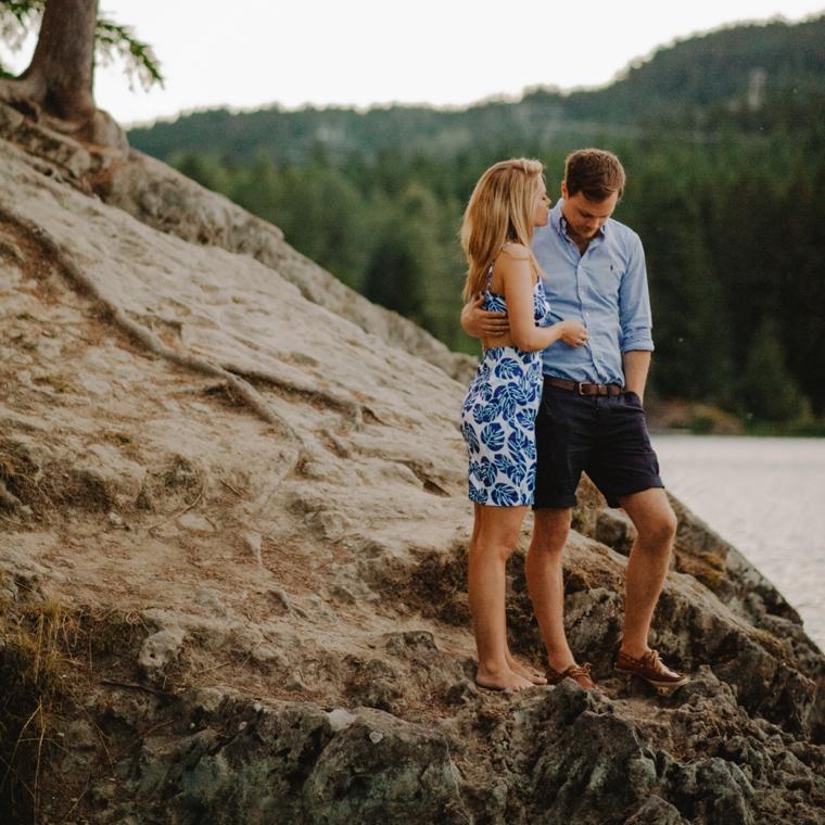 destination wedding proposal in whistler