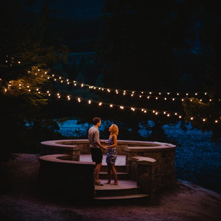 Romantic whistler proposal location