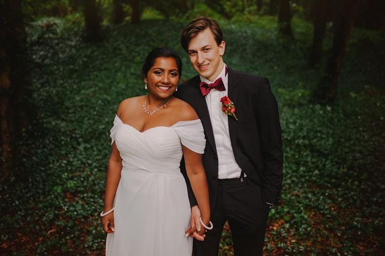 germany mountain wedding photo