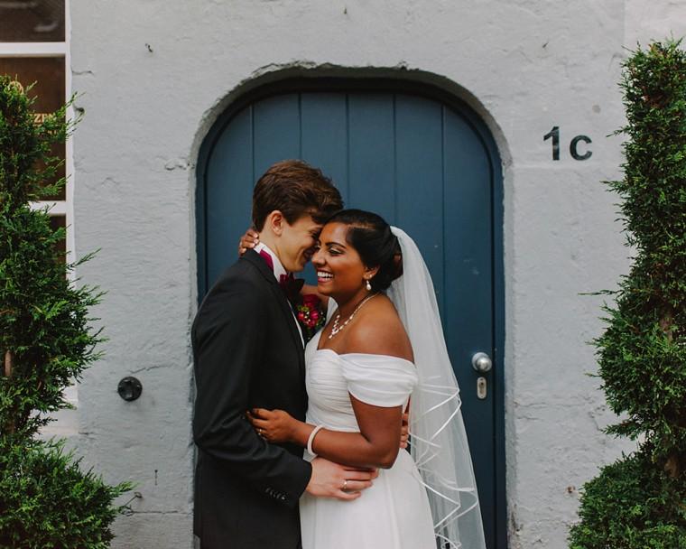 unique europe destination wedding portrait