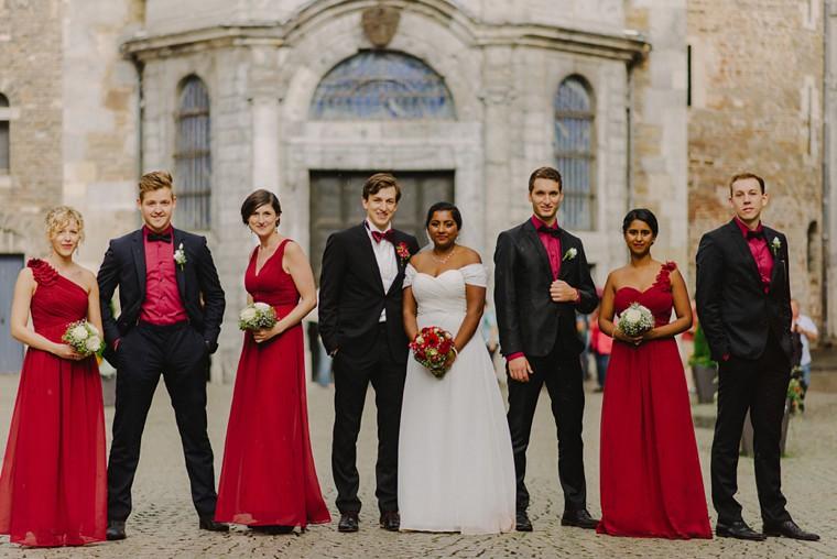 german castle wedding