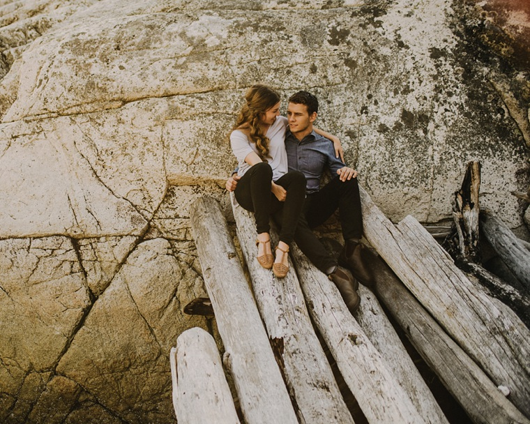 cool vancouver engagement photographer