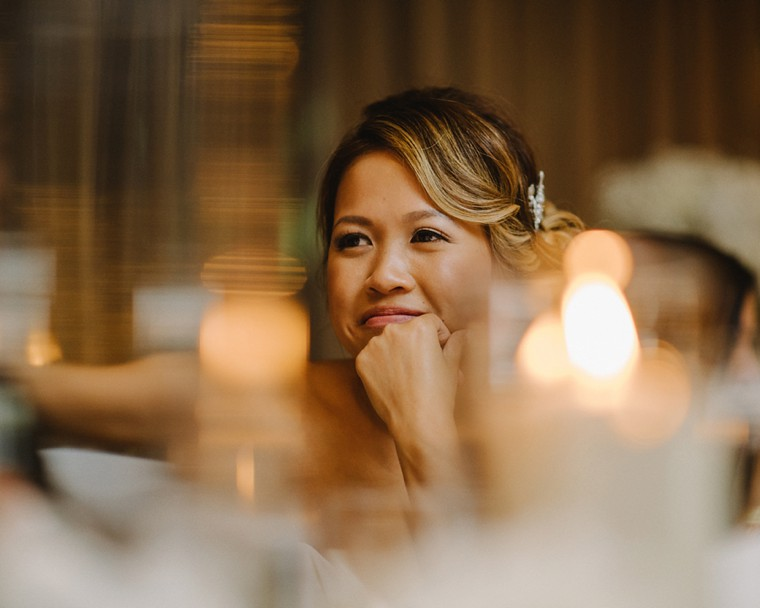 candlelit vancouver wedding