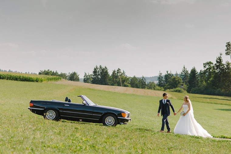 Black forest wedding portrait in Germany