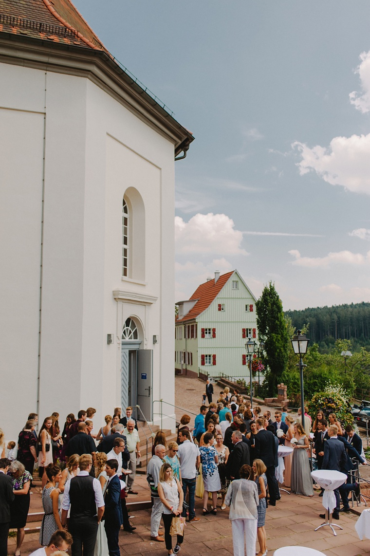 wedding in the German black forest