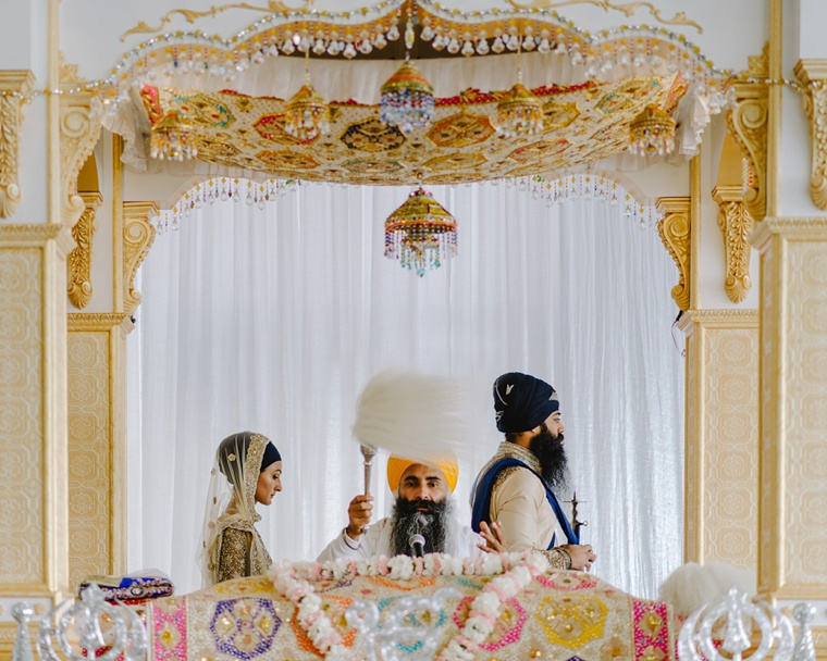 Indian wedding at Vancouver temple