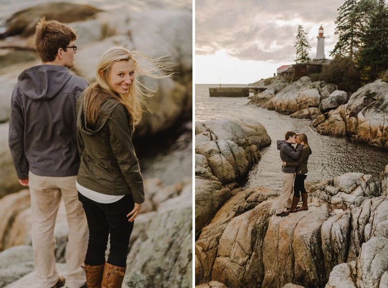 lighthouse park in vancouver portraits