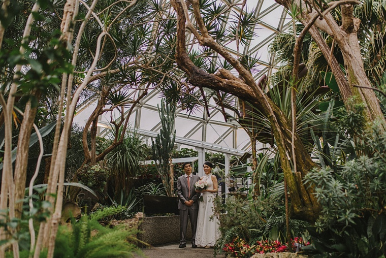 Bloedel conservatory wedding in vancouver