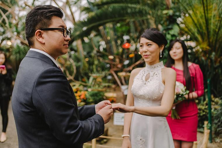 Vancouver wedding venue bloedel conservatory