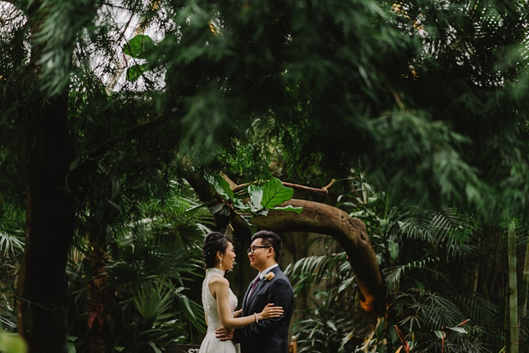 wedding at bloedel conservatory in vancouver
