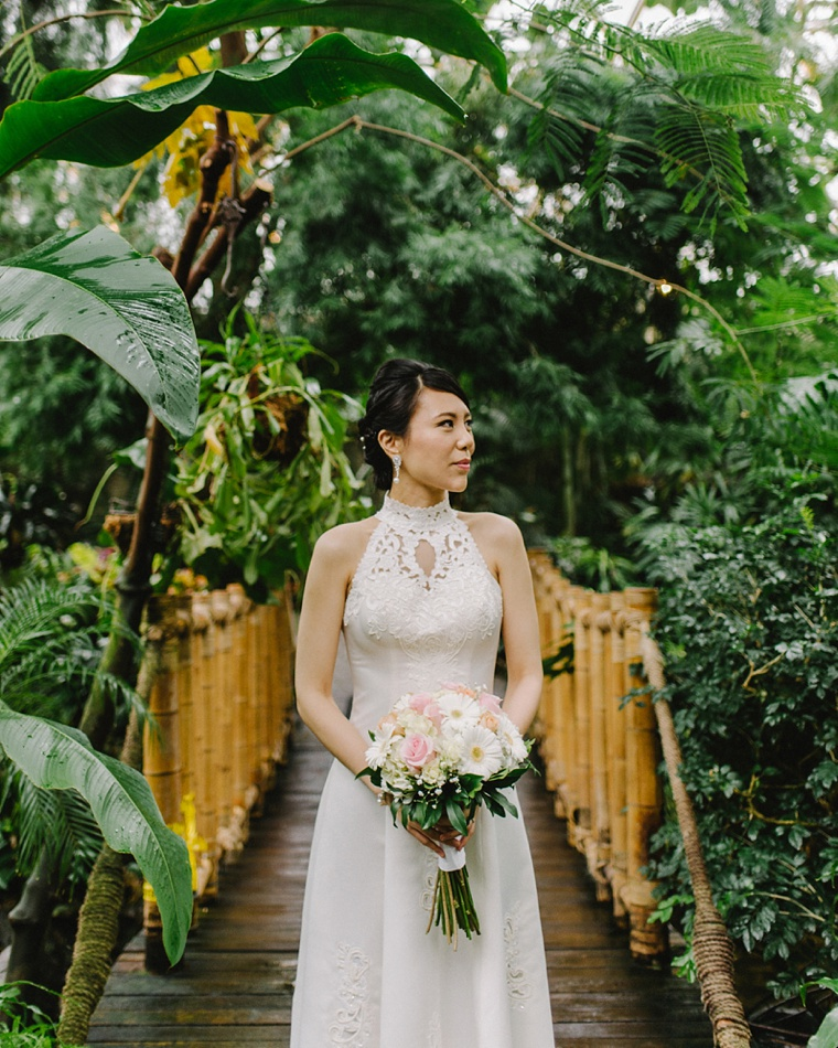 vancouver jungle wedding
