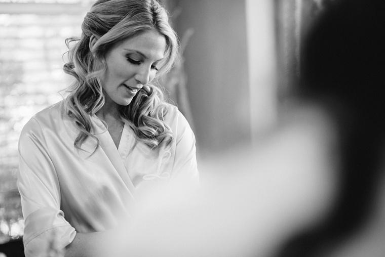 fine art photo of bridesmaid getting ready