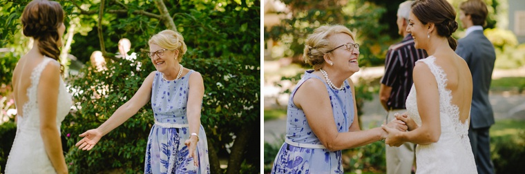 best mother reaction to seeing bride