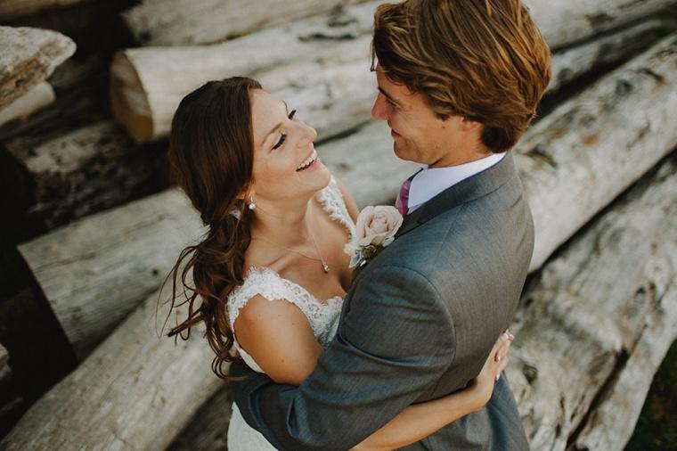 wedding photo taken at spanish banks in vancouver