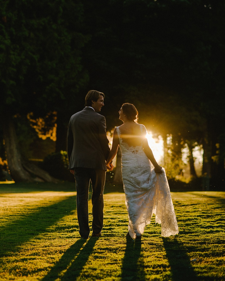wedding portrait at shaughnessy golf club in vancouver