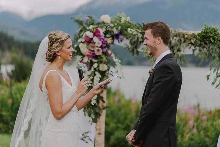 destination wedding venue in whistler