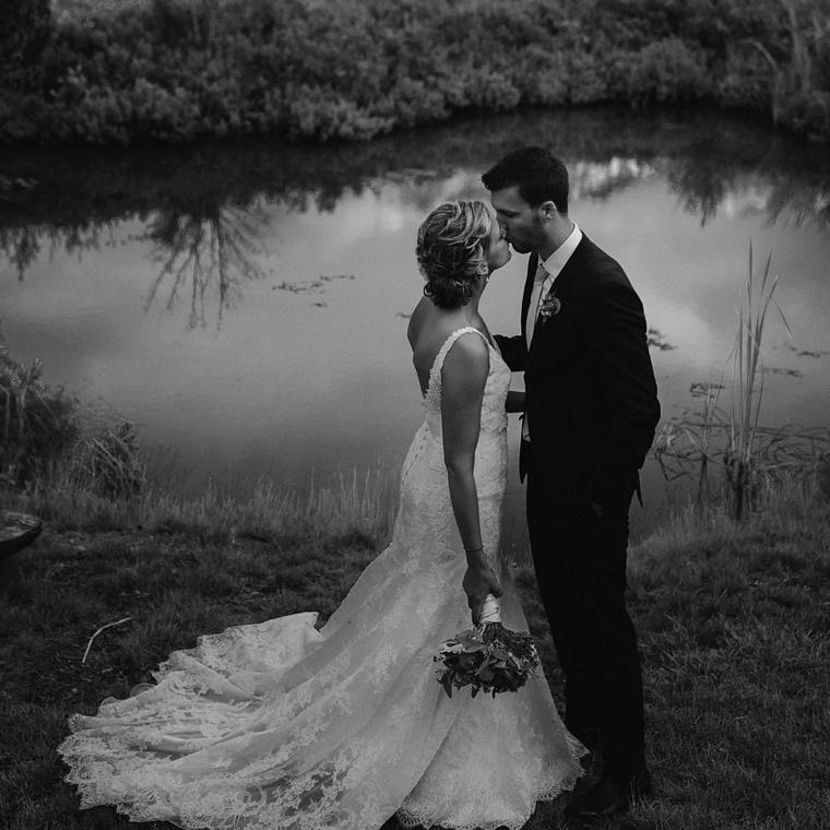 unique edgewater lodge wedding