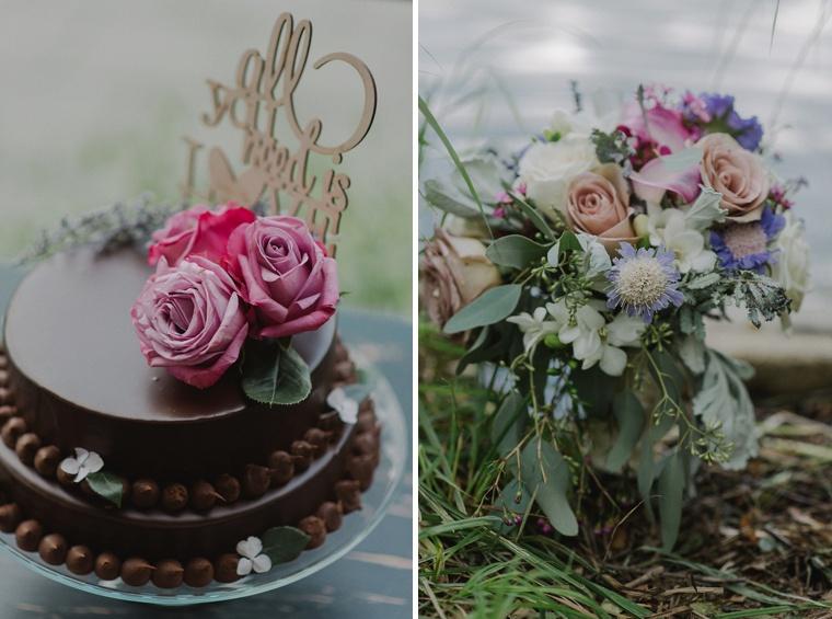 wildflower wedding in whistler