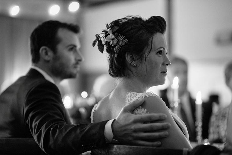 intimate vancouver wedding reception