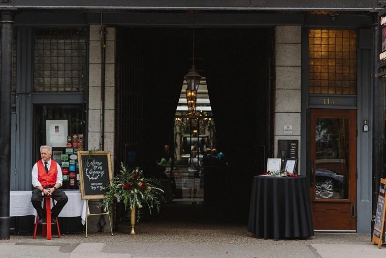 brix and mortar wedding venue