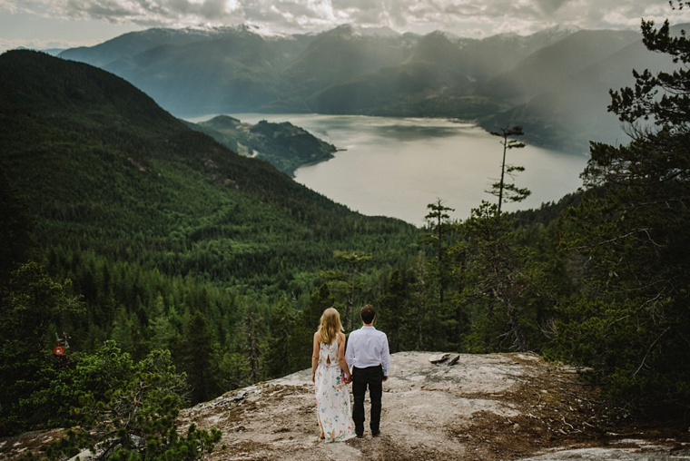 squamish mountain engagement