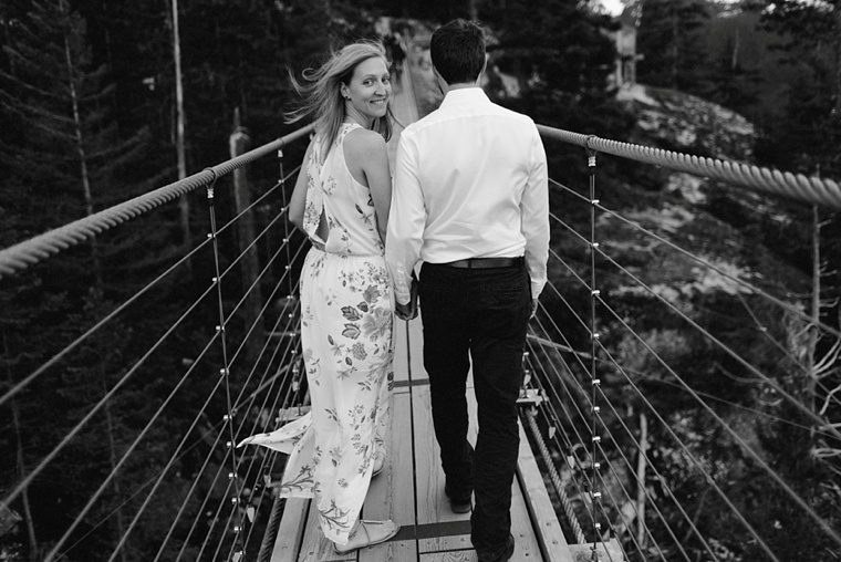 suspension bridge engagement
