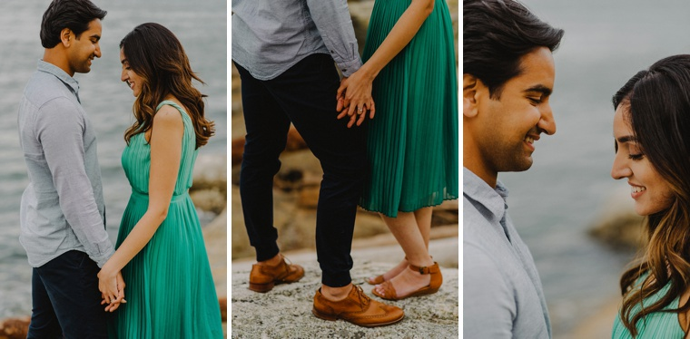 indian engagement session in vancouver