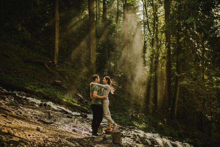 bridal veil falls chilliwack engagement