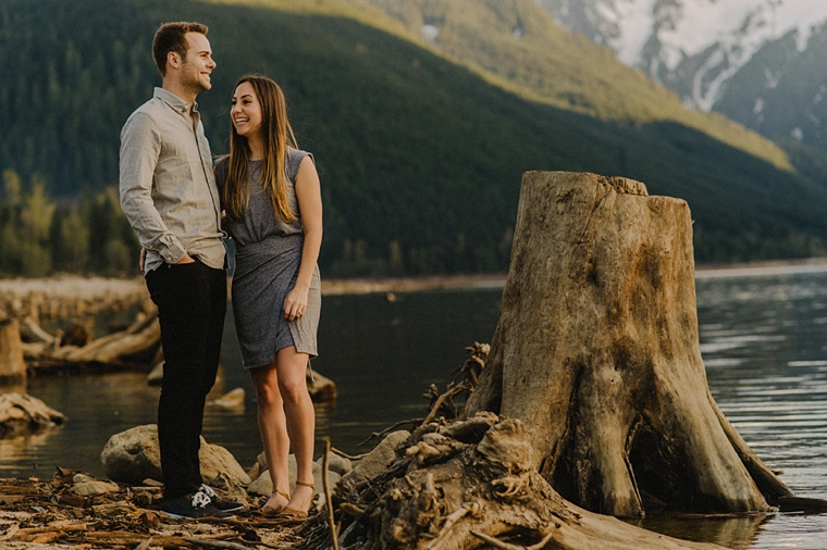 engagement session at jones lake in chilliwack