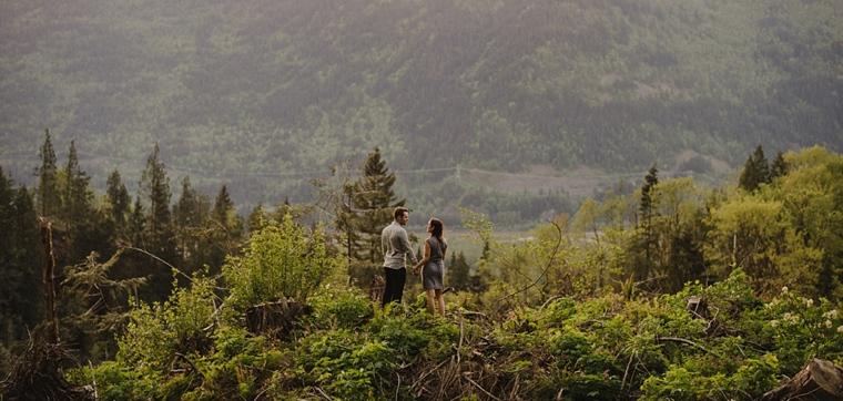chilliwack mountain engagement